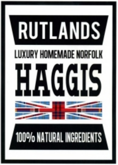 Haggis from M & M Rutland specialist Butchers, Melton Constable, Norfolk, UK